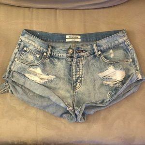 One Teaspoon Bandit Shorts Size 28